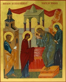The Presentation of the Child in the Temple